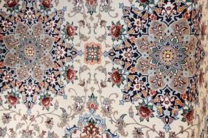 Alfombras Isfahan Iran de Seda y Kork