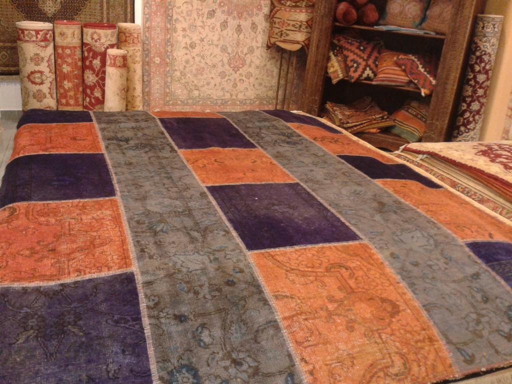 Galer a alfombras kuros alfombras persas y orientales for Alfombras patchwork persas